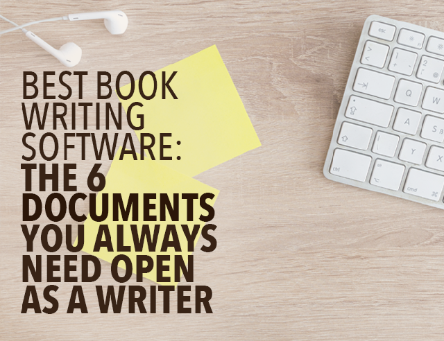 software for writing a book