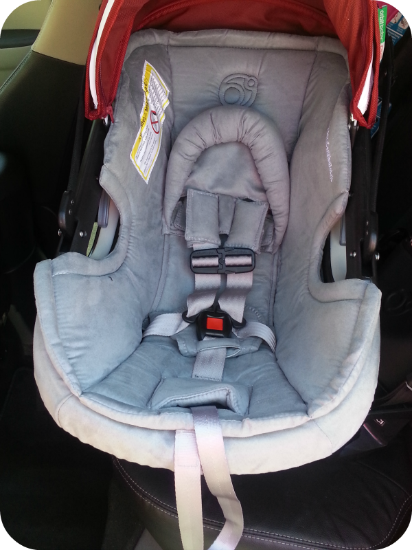 The Denver Housewife Orbit Baby G2 Infant Car Seat Review